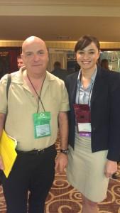 Amanda Ah Sue with Alert client Kenton Koszdin