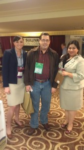 Amanda Ah Sue and Nancy Vallejo with Alert client William Todd Berry