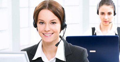 phone answering service operator