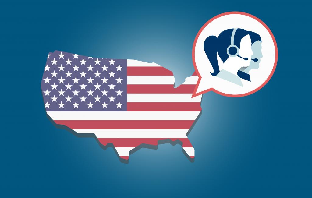 U.S.-Based Call Center